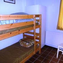 Kleinste slaapkamer met stapelbed